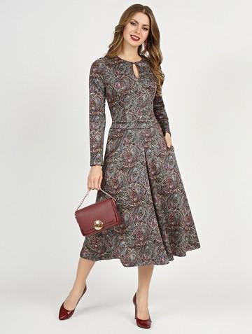 Платье feruza, цвет розово-голубой