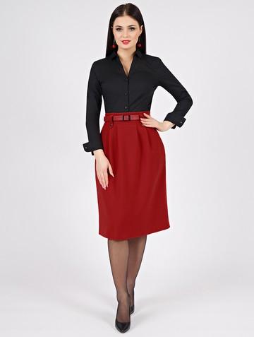 Юбка ninel, цвет красный