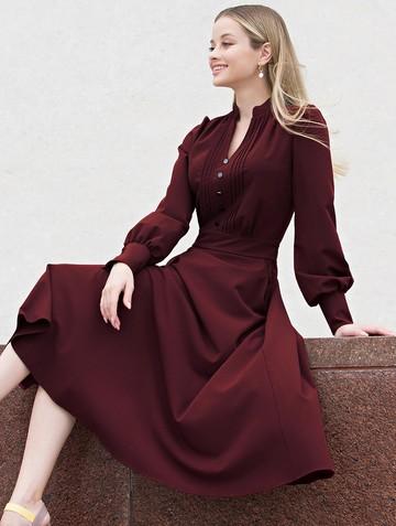 Платье liann, цвет рубиновый