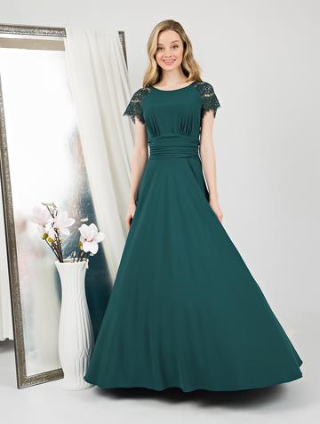 Платье dorry, цвет бирюзово-зеленый