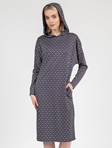 Платье ivy, цвет черно-серый
