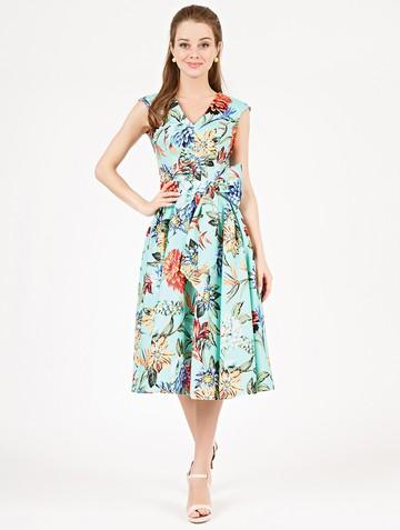 Платье ulana, цвет бирюзовый