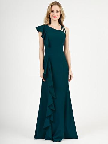 Платье dafina, цвет бирюзово-зеленый