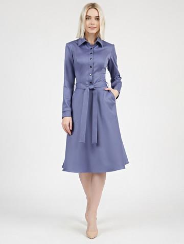 Платье pransy, цвет лазурный