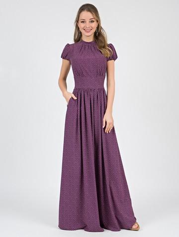 Платье djanatty, цвет фиолетовый