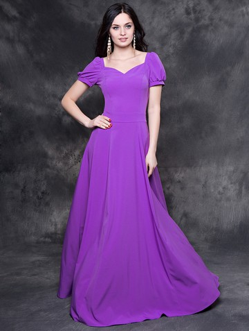 Платье lesly, цвет фиалковый