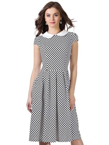 Платье lala, цвет молочный