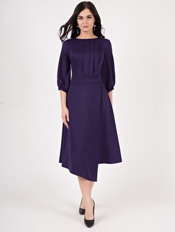 Платье saddy, цвет темно-фиолетовый