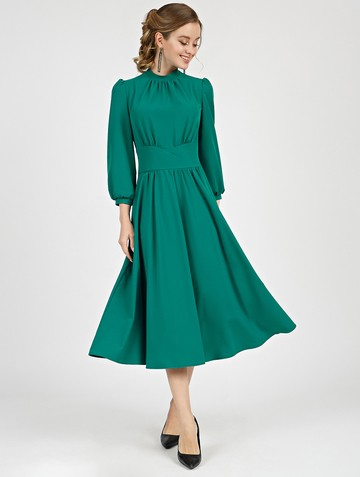 Платье nalva, цвет темно-бирюзовый