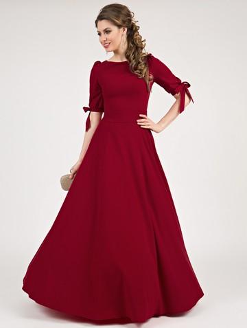 Платье zlata, цвет мальва