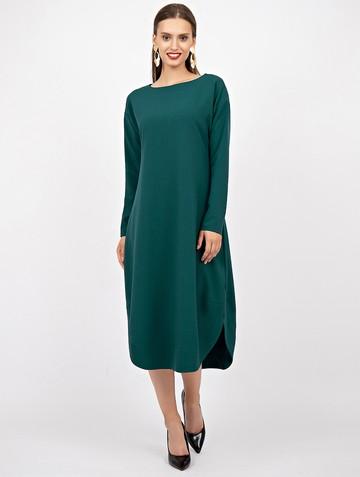 Платье harmony, цвет темно-зеленый