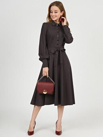 Платье melania, цвет шоколад
