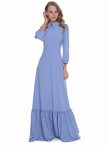 Платье anfisa, цвет небесный