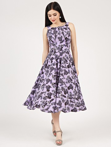 Платье lubava, цвет сиреневый