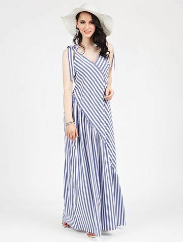 Платье drew, цвет молочно-синий