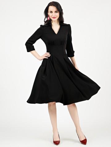Платье alvina, цвет черный