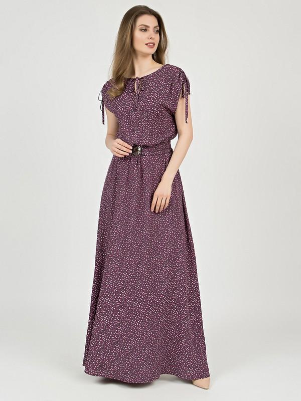 Платье ipomea лилового цвета от OLIVEGREY: купить по цене 7032.0 руб. в Москве в интернет-магазине