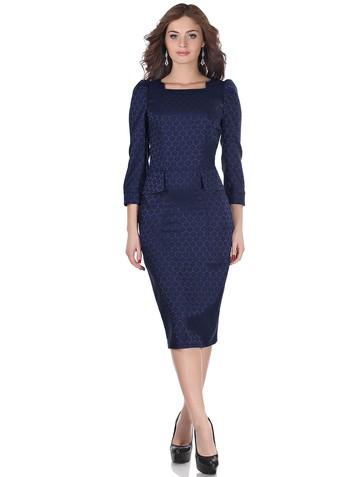 Платье safira, цвет темно-синий