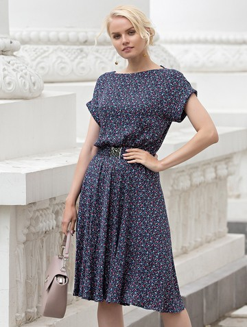 Платье lanty, цвет синий
