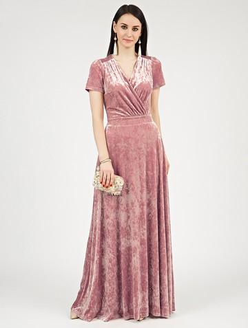 Платье leonida, цвет розовый жемчуг