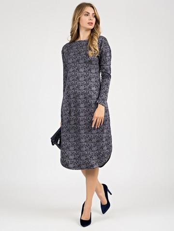 Платье jetem, цвет сине-белый