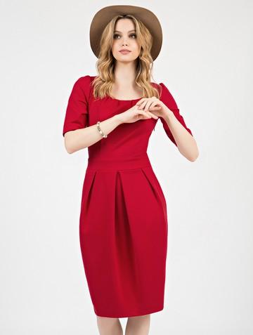 Платье kesly, цвет красный