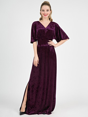 Платье irisa, цвет сливовый