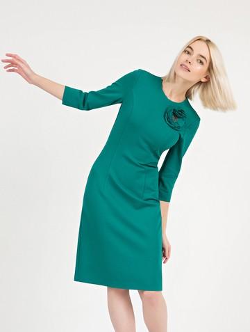 Платье ponty, цвет изумрудный