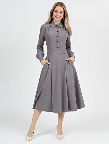 Платье alsu, цвет серый