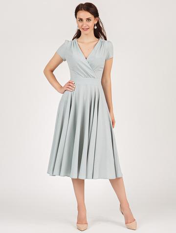 Платье ruta, цвет серо-мятный