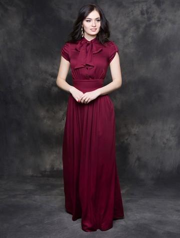 Платье listin, цвет бордовый