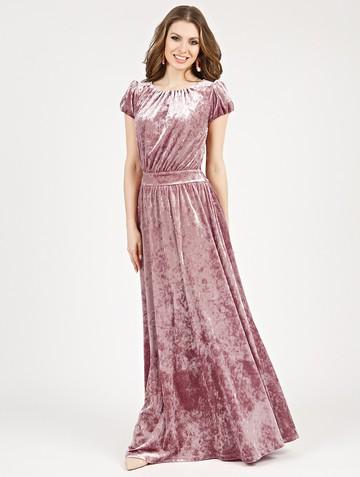 Платье veridy, цвет розовый жемчуг