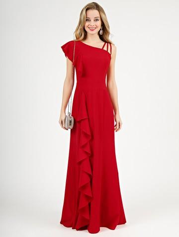 Платье dafina, цвет красный