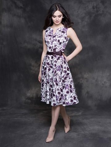 Платье irada, цвет молочно-фиолет
