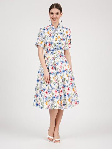 Платье frezia, цвет молочно-голубой