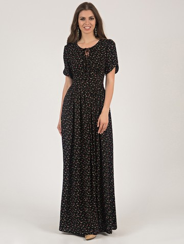 Платье ananda, цвет черный