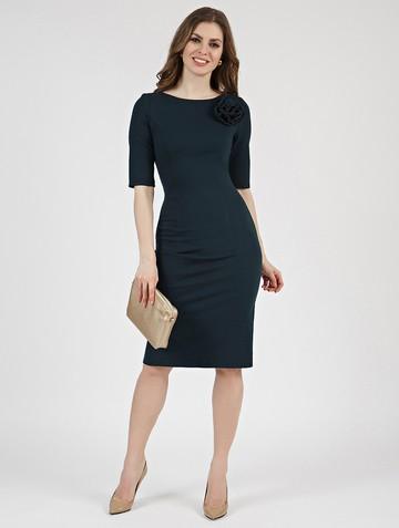 Платье anais, цвет темно-зеленый