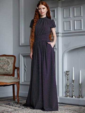 Платье djanatty, цвет черный