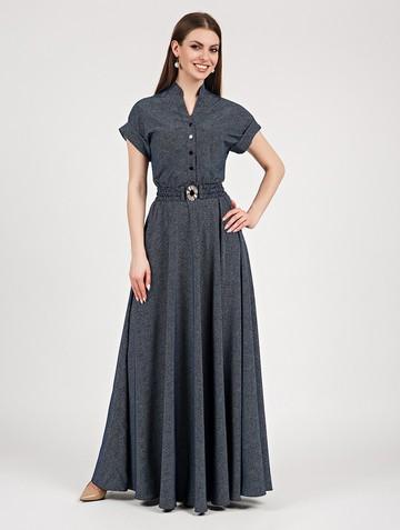 Платье lilias, цвет сине-молочный