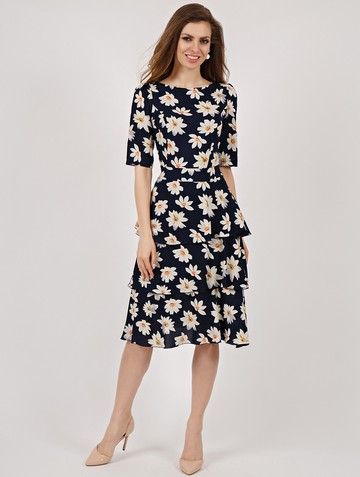 Платье lionel, цвет темно-синий