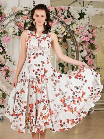 Платье lubava, цвет молочно-оранжевый