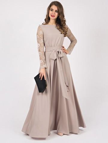 Платье eloiza, цвет серо-розовый