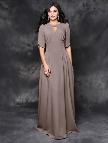 Платье mihael, цвет серо-бежевый