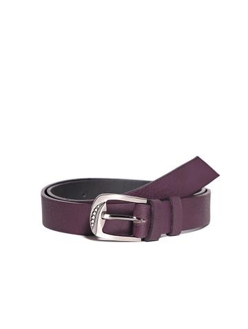Ремень Rm-049, цвет темно-фиолетовый