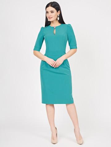 Платье nonna, цвет бирюзовый