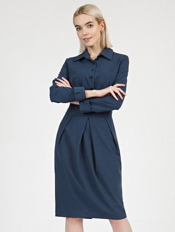 Платье nioby, цвет индиго