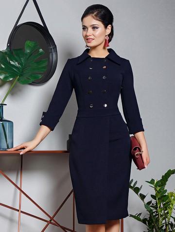 Платье rory, цвет темно-синий