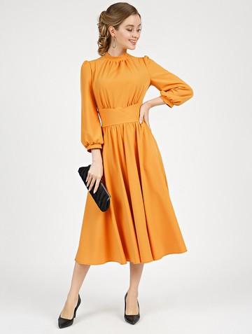 Платье nalva, цвет шафрановый