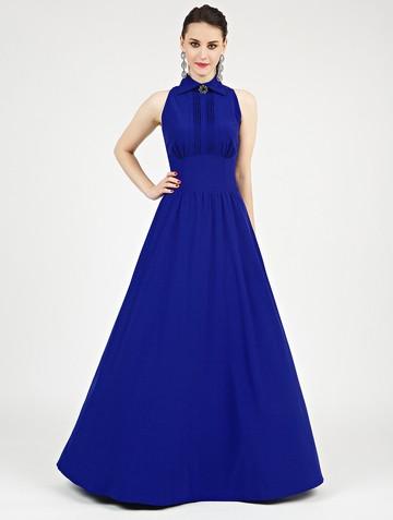 Платье dinia, цвет ультрамарин