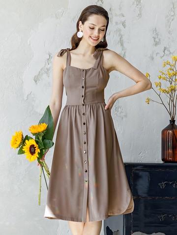 Платье tiramy, цвет лиловый